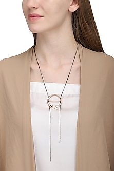 Rose Gold Flex Necklace by Rejuvenate Jewels