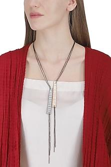 Gold Guitar Flex Necklace by Rejuvenate Jewels