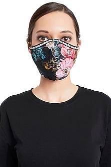 Multi Colored Reusable 3 Ply Mask With Pouch by Rocky Star