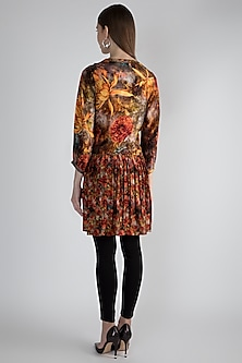 Multi Colored Printed Tunic by Rocky Star