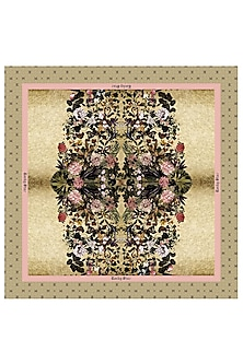 Multi Colored Floral Printed Scarf by Rocky Star