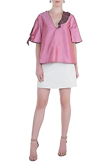 Onion Pink Frill Top by Rocky Star
