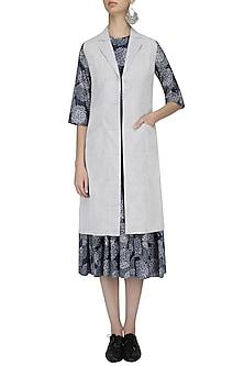 White Alyssum Waistcoat by Raiman