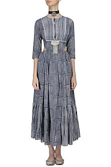 Indigo Alyssum Dress by Raiman