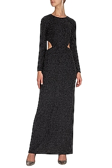 Black Maxi Dress by Renge