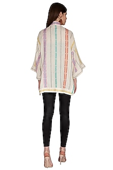 Multi Colored Striped Top by Renge