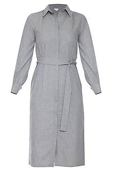 Grey midi dress by RENGE