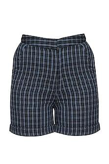 Blue short pants by RENGE