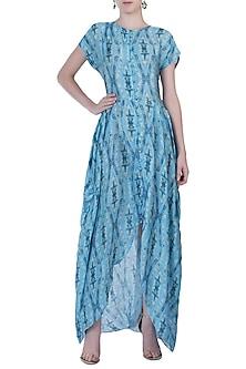 Blue Maxi Dress by Roshni Chopra