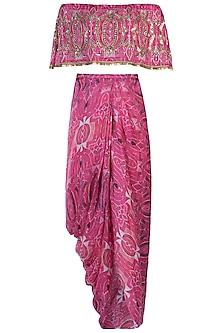 Pink Goddess Maxi Dress by Roshni Chopra