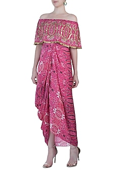 Pink Goddess Maxi Dress by Roshni Chopra