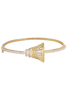 Gold Plated Zircons and Bell Motif Bracelet by Rose Jewellery Collection