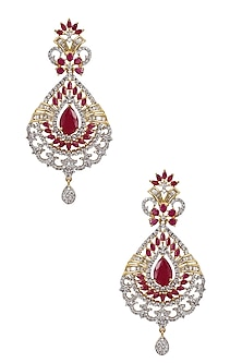 Gold Plated Micro Polish Tear Drop Earrings by Rose Jewellery Collection