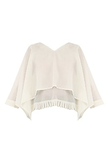 Ivory Layered Top by Rouka