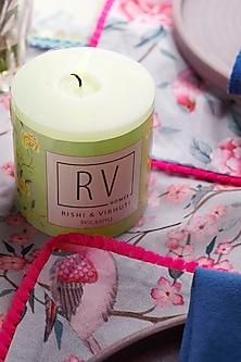 Green Apple Cinnamon Taahish Candle by Rishi & Vibhuti - Homeware