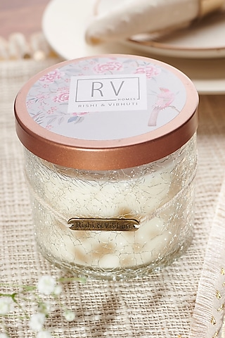 Ivory Midnight Jasmine Sehar Candle by Rishi & Vibhuti - Homeware