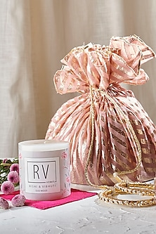 Ivory Midnight Jasmine Kaira Candle by Rishi & Vibhuti - Homeware
