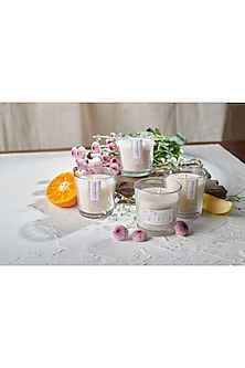 Mezbaan Candle Box (Set of 4) by Rishi & Vibhuti - Homeware