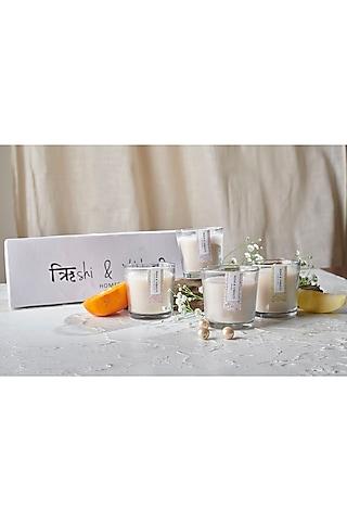 Mezbaan Candle Box (Set of 4) by Rishi & Vibhuti - Homeware