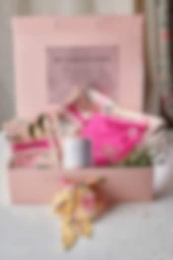 Hot Pink & Peach Tea Set (Set of 20) by Rishi & Vibhuti - Homeware