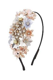 Multi Colored Embellished Hairband by Studio Accessories
