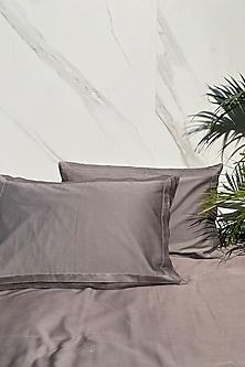 Olive Grey Bedsheet Set by SADYASKA