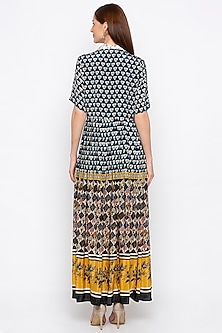 Multi Colored Embroidered Crepe Dress by Soup by Sougat Paul