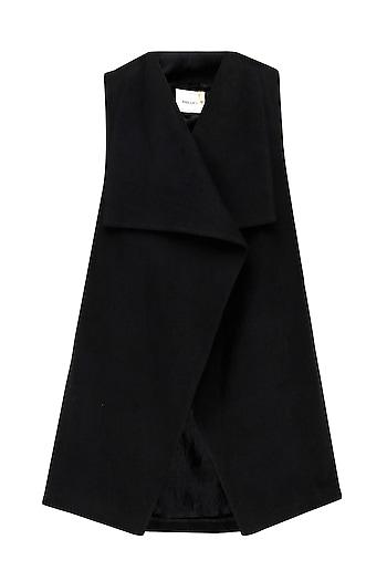 Black Cordoba Jacket by Label Ishana