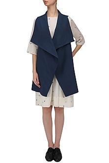 Navy Cordoba Jacket by Label Ishana