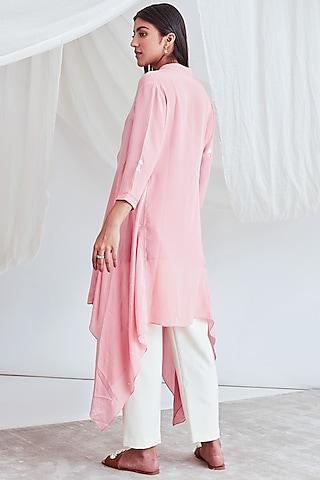 Blush Pink Tunic With Slip by Sitaraa