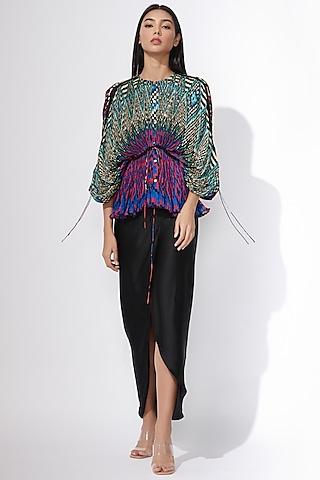 Black Pencil Skirt by Saaksha & Kinni