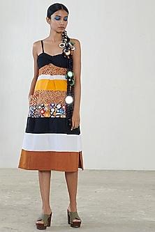 Multi Colored Printed Dress by Saaksha & Kinni