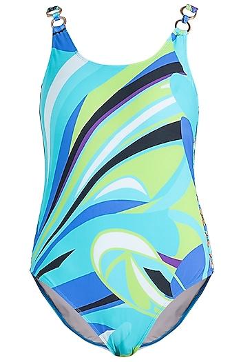 Blue luna ring up swimsuit by KAI Resortwear