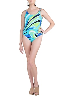 Blue luna ring up swimsuit by KAI Resortwear