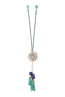 Oxidised Floral Lumba by SONNET