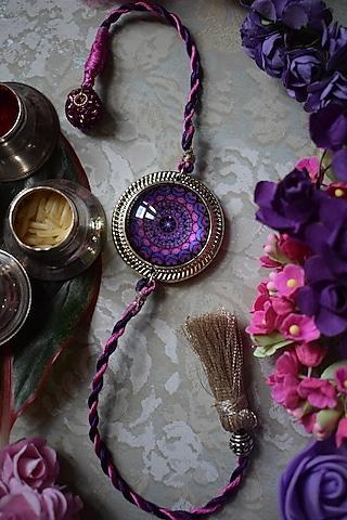 Antique Purple Rakhi by Sonnet