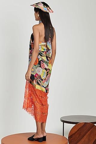 Multi Colored Printed Beach Dress by Shivan & Narresh