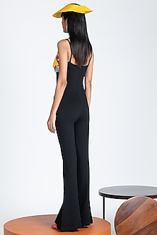 Multi Colored Sleeveless Jumpsuit by Shivan & Narresh