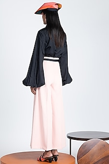 Hibiscus Trousers With Flared Hem by Shivan & Narresh