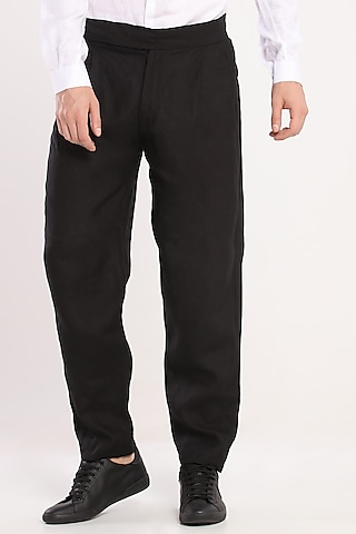 Black Box Pleated Trousers by Son Of A Noble SNOB
