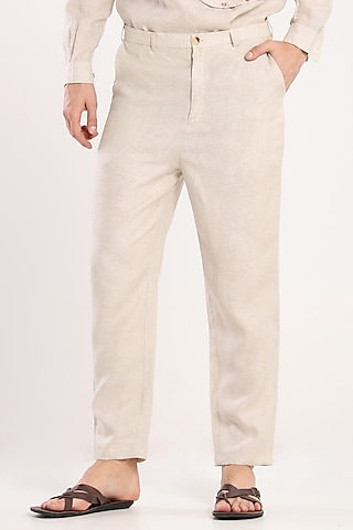 Light Grey Trousers by Son Of A Noble SNOB