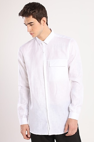 White Linen Shirt by Son Of A Noble SNOB