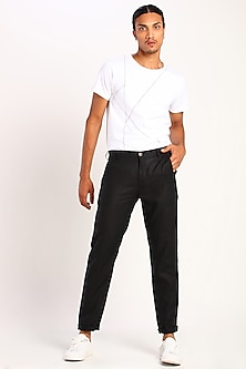 Black Linen Pants by Son Of A Noble SNOB