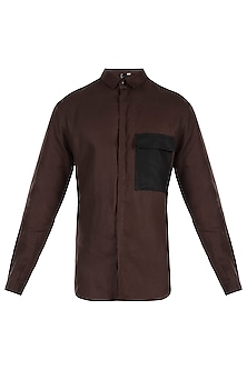 Dark brown shirt by Son Of A Noble SNOB