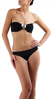 Embellished Bandeau Bikini by Shivan & Narresh