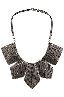 Black Brass Pipes and Kasab Necklace by Store Without A Name