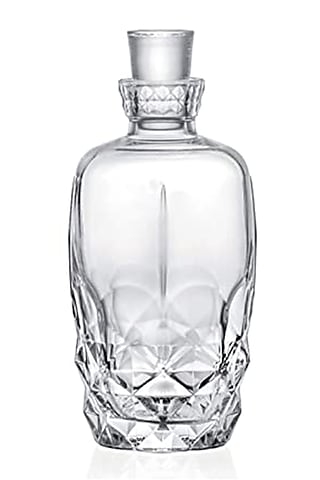Clear European Decanter by Table Manners