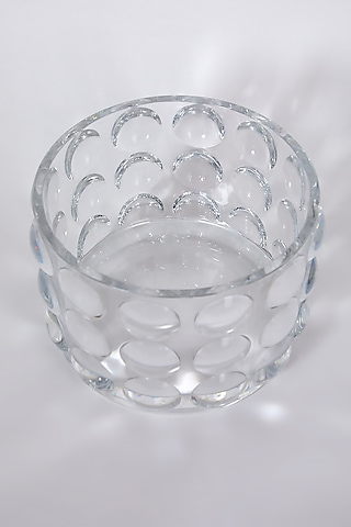 Crystal Bubble Vase by Table Manners