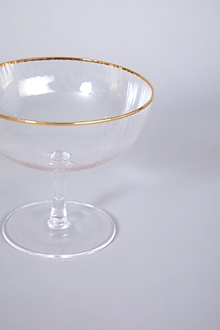 Ice Cream Tum Glasses (Set of 4) by Table Manners