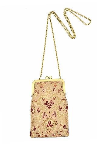 Golden Mini Clutch Sling Bag by That Gypsy